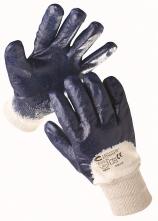 Rukavice CERVA KITTIWAKE bavlnený úplet nitrolom silno polomáčaný pružná manžeta