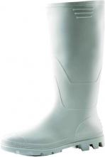 Obuv gumáky Ginocchio bianco PVC vysoké biele veľkosť 42
