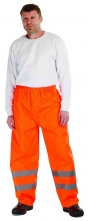 Nohavice GORDON do pása polyester potiahnutý PU nepremokavé oranžové veľkosť XL