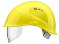 Prilba VOSS VISOR LIGHT ochrana zátylku PC priezor žltá