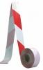 Páska červeno-biela zábrana 500 m
