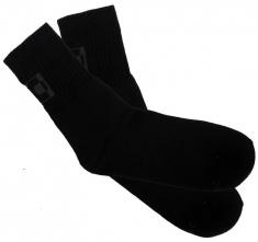 Ponožky Thermomax froté hrubé čierne veľkosť 41 - 42
