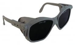 Okuliare B-B 40 sivý rámček zváračské priezory stupeň 5