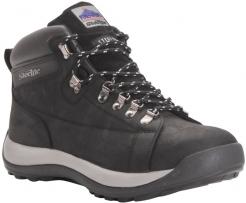 Obuv Steelite™ Mid Cut SB členková nubuková koža gumová podrážka čierna veľkosť 43