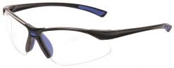 Okuliare Bold PRO s dvomi priezormi mäkký nosový mostík športový rámik číre