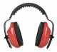 Mušľový chránič PW Classic Plus SNR 28 ABS mäkké polstrovanie červený