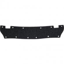 Potný pásik BASALPHA látkový s molitanom do prílb balenie 10 ks čierny