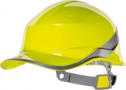 62ad0cedffb Ochranná priemyselná prilba BaseBall Diamond V reflexné pruhy vysoko  viditeľná žltá