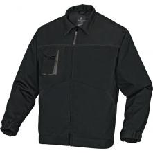 Montérková blúza MACH 2 zips vrecká pri páse a na prsiach čierno/sivá