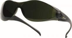 Okuliare PACAYA T5 zváračské odolnosť proti poškriabaniu tónované stupeň 5 zelené