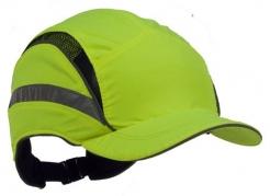 Náhradný poťah na čiapku so škrupinou PROTECTOR FB3 CLASIC skrátená dĺžka šiltu výstražná žltá