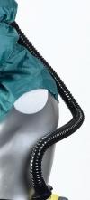 Gumová dýchacia hadica kukla SCOTT PROCAP čierna