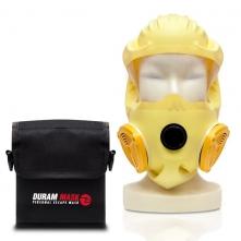 Puzdro na opasok pre požiarnu únikovú masku COGO suchý zips čierne
