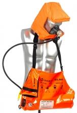 Únikový dýchací prístroj ELSA 10-B tlaková fľaša 10 min taška oranžová