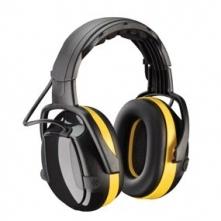 Mušľové chrániče sluchu temeno SECURE 2H ACTIVE čierno/žlté