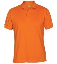 Polokošeľa ESTRELA ROLY krátky rukáv oranžová veľkost XXL