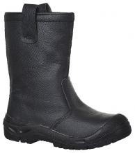 Obuv PW Steelite™ Rigger Boot Scuff Cap S3 CI kožená zateplená ochranná čižma čierna