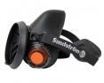 Polomaska SUNDSTRÖM SR 100 upevnenie pre centrálny filter 2 výdychové ventily čierná veľkosť L/XL