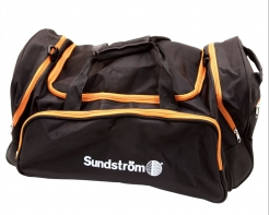 Taška Sundström SR 505 pre jednotku SR 500 a kuklu bočné vrecká čierno / oranžová
