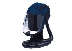 Kukla dýchacie Sundström SR 520 číry zorník krátky látkový vrchlík tmavo modrá M/L