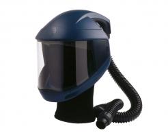 Kukla dýchacie Sudström SR 540 nastaviteľný kríž pevný zorník v ráme ochrana čela tmavo modrá