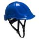 Ochranná priemyselná prilba Endurance materiál ABS podbradný pásik račna tmavo modrá