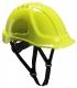Ochranná priemyselná prilba Endurance ABS podbradný pásik račna vysoko viditeľná žltá