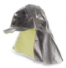 Poťah na prilbu s ochranou tyla K-370 tepelne odolný strieborný