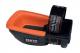 Nákolenník Fento 200 PRO ergonomický pogumovaný skelet oranžová penová výplň čierny