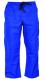 Montérkové nohavice KLASIK do pása na šnúrku bavlna stredne modré