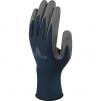 Rukavice DELTA SAFE & STRONG nylonový úplet 13 Silicone DMF Free potiahnuté PU šedo/modré