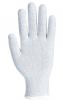 Rukavice Knittip ESD pylón /uhlík/PU bezšvíkové antistatické úplet 15 pružná manžeta sivé