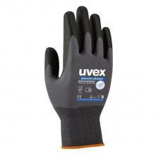 Rukavice Uvex Phynomic Allround úplet nylon/elastan potiahnutý priedušným polymérom sivo/čierne