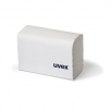 Čistiace bezsilikónové antistatické papieriky UVEX na okuliare balenie 700 ks biele