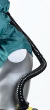 Hadica dýchacia PU Fix k FH1/2/21/22/3/31/5/51 pripojenie k jednotkám TORNADO, PROFLOW, DURAFLOW čierna