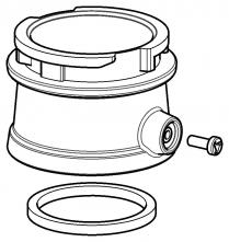 Adaptér s bajonetom na hadice dýchacích kukiel na pripojenie hadice k filtračno-ventilačnej jednotke SCOTT PROFLOW