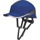 Prilba DELTA Baseball Diamond V UP reflexné pruhy na škrupine 4-bodový podbradný pásik račňa stredne modrá