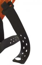 Náhradný gumový pásik na upínanie nákolenníky HORNÍK, KASTEN, HARMONICA čierny