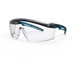 Okuliare UVEX ASTROSPEC 2.0 Supravision Extreme zorník odolný proti poškriabaniu sivo/modrý rám číre