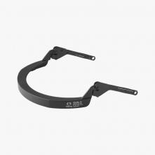 Držiak štítu Hellberg EPOK SAFE2 nylonový na štandardné prilbu s rovným šiltom čierny