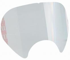 Folie na celotvárovou maska 3M 6000 samolepiaca originálna tvarovaná podľa priezoru balenie 25 ks cena za ks číra