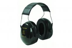 Mušľové chrániče sluchu 3M PELTOR OPTIME II H520-407-GQ s hlavovým oblúkom SNR 31 čierne