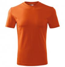 Tričko Malfini Heavy 200 bavlna 100 % kvalitný bavlnený materiál okrúhly priekrčník oranžove