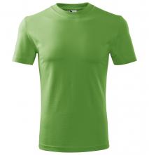 Tričko Malfini Heavy 200 bavlna 100 % kvalitný bavlnený materiál okrúhly priekrčník trávovozelené