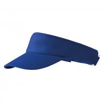 Šilt Malfini Sunvisor bavlna froté potní pásik nastaviteľný sponou podšívka kráľovský modrý