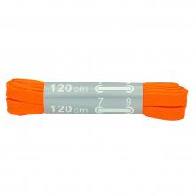 Šnúrky SITIL FLAT 380/130 100% PES široké 15mm dĺžka 120 cm svietivo oranžové