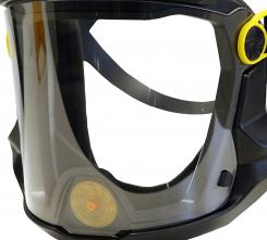 Priezor Multimask verzia 2.0 náhradný pre ventilovaný dýchací štít acetátový nezahmlievajúci sa číry