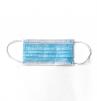 Rúšky CXS MEDIC 3 vrstvá jednorazová guľatá textilné guma za uši 50 ks modrá