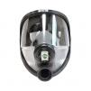 Celotvárová maska SCOTT SARI prírodný kaučuk priezor TRIPLEX vrstvené sklo sivá