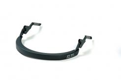 Držiak štítu Hellberg EPOK SAFE2 plastový k prilbám so šikmým šiltom čierny